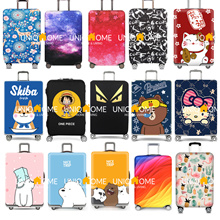 ✈️ TRAVEL ESSENTIAL ⭐ CHEAPEST IN QOO10 ★ Over 200+ Designs! ★ Luggage Elastic Cover ★ FAST DELIVERY