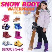 winter boots snow boots rain boots cotton shoes warm  Non slip waterproof women shoes kids shoes