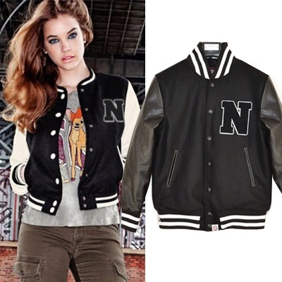 Qoo10 - Unisex baseball jacket womens baseball jacket military ...