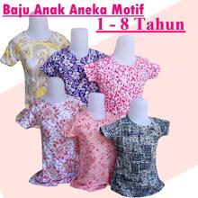 GET 3 PCS Baju Anak Motif 1-8 Tahun / Bahan Kaos Cotton / Baju Kaos anak permepuan