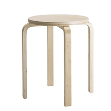 IKEA FROSTA Stool birch plywood can be stacked side table dining chair