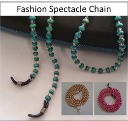 Fashion Spectacle Chain | Eyewear Chain | Beaded Spectacle Chain | Beaded Spectacle Lanyard | Spectacle Chain Beads
