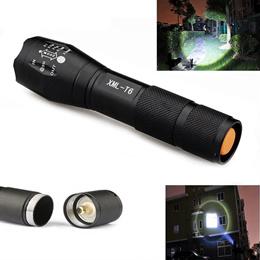 UltraFire 2000 Lumens CREE XML T6/L2 LED Zoomable Flashlight Torch Skid Proof Fit
