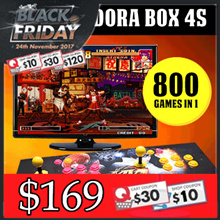 [MAKE $169] Pandora Box 4S / 5S Arcade Game Console 800 / 986 Games Jamma Plug and Play in TV