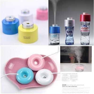 ♥Shop Assurance♥Bottle Cap Cute Mini Donut USB Humidifier Colorful NANO Mist Duck Aroma Diffuser Air Purifier / Revitalisor / Aromatherapy / Purifier / Ionizer / Haze