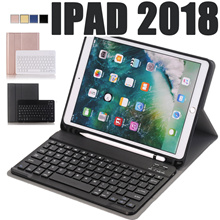 Bluetooth Keyboard Case for Apple New iPad 9.7 2017 2018 iPad Pro 10.5 iPad 6 with Pencil Holder cas