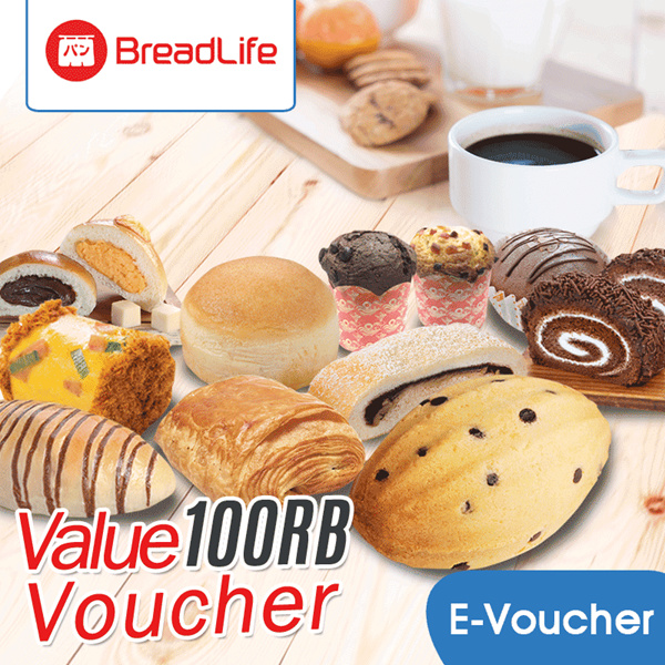 [FOOD] BreadLife Value Voucher 100K Deals for only Rp99.000 instead of Rp99.000