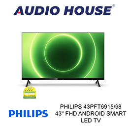 PHILIPS 43PFT6915/98 43 FHD ANDROID SMART LED TV **3 YEARS WARRANTY BY PHILIPS**