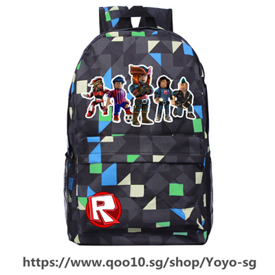 b34ea0d8faa4 45*31*13cm Game Roblox Figure School Bags Boys Girl Backpack Kids  Stationery Book Bag Cartoon Action