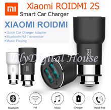 Xiaomi RoidMi 2S/3S Music Bluetooth Car Charger Handfree Music/FM 5V 3.8A export set