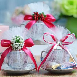 wedding favour teacup wedding berkat