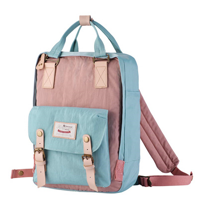 3fa1d0ef5a27 Himawari Backpack/Waterproof Backpack 14.9 College Vintage Travel Bag  Women,13inch Laptop Student (P