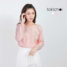 TOKICHOI - Ribbon Back Blouse-172116-Winter