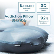 ★24h-48h FREE DELIVERY★BODYLUV★ PILLOWBODYLUV ADDICTION PILLOW★8 MILLION MIRCO AIR BUBBLES★