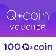 100 Q*coin Top Up Voucher