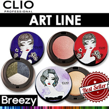 BREEZY ★ [Clio]Art Eyeshadow 2 or 3 Colors / Art Blusher / Art Highlighter /