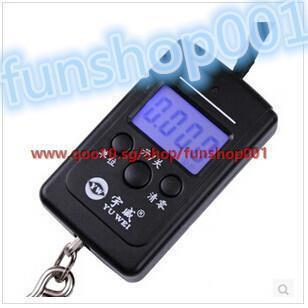 Courier said portable electronic scale spring balance accurate precision  weighing Portable Mini Sca