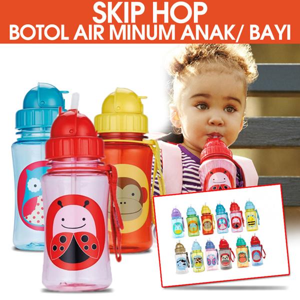 Skiphop/ skip hop Botol air minum anak/ bayi sedotan travel Deals for only Rp75.000 instead of Rp75.000