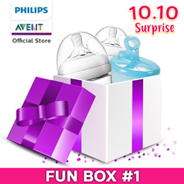 Philips Avent Fun Box #1 Worth $87.20 NOW $19.00!!