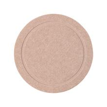 Francfranc Diatomite Coaster Simple Circle Pink 22545