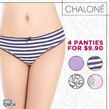 Cotton Panties Bundle of 4