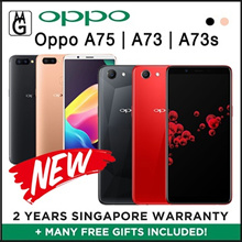 Oppo A73 3/32GB l A73S I A75 4/32GB .Local 2yrs Official Warranty / FREE CASE AND SCREEN PROTECTOR.