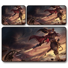Hero YaSuo Game Mouse Table Mat League of Legends (Size: A)