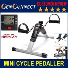 ⏰【USA Export Set】★Digital Display★Mini Cycle Pedal Exerciser Physiotherapy Exercise Bike Bicycle