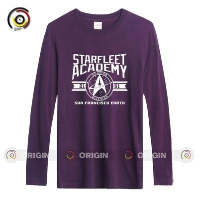 Qoo10 Star Trek Starfleet Academy Men S Long Sleeve T Shirts Old