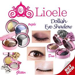 SALE!! WHILE STOCK LASTS !! Lioele Dollish Glittering Triple Eye Shadow / 炫彩星钻三色眼影  **PROMO**