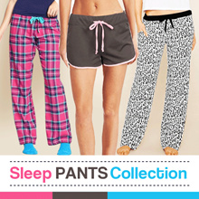 Pajamas Pants For Woman - 2 Model - Good Quality - Celana Tidur Wanita - Celana Santai