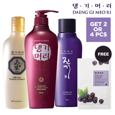 [FREE MIZON MASK] - Daeng Gi Meo Ri Shampoo and Conditioner Deals for only Rp167.200 instead of Rp185.778