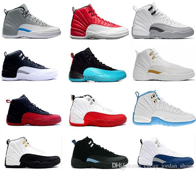 778f66e82efc 2016 new air retro 12 XII basketball Shoes ovo white Flu Game GS Barons Gym  red