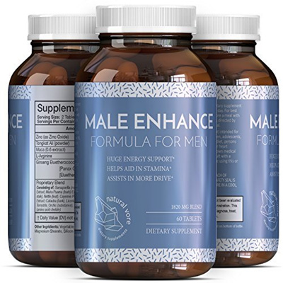 Pure And Potent Male Enhancement Pills - Natural Ginseng And Maca Root And  Tongkat Ali - Powerful Te