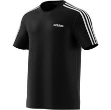 Adidas Men s Essentials 3 Stripes Short Sleeve T-Shirt
