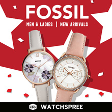 [NATIONAL DAY SPECIAL] FOSSIL New Arrivals 2019 Watches for Men and Ladies.