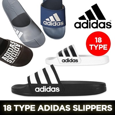 2c2a8149655 Qoo10 -  ADIDAS  18 TYPE Adidas Slippers Collection   Men s Bags   Shoes