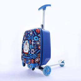 어린이 캐리어 킥보드/18인치/여행가방