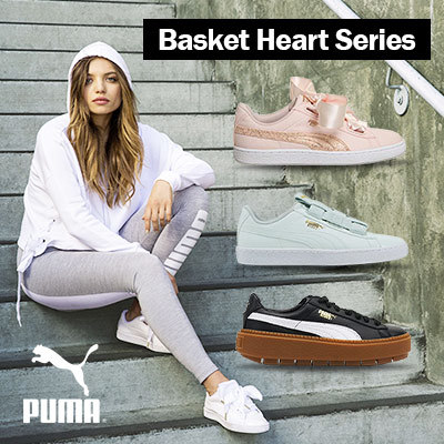 low priced 926aa f92e3 [PUMA] Basket Heart | Hyper EMB | Platform Trace | Ignite Flash Evoknit |  Basket Maze