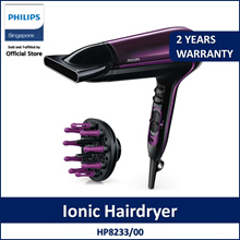 Philips ThermoProtect Ionic Hairdryer HP8233/00 2200W ThermoProtect setting