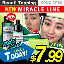 2018 NEW!!★Qoo10 Lowest Price★SOMEBYMI★Miracle Toner_150ml /Miracle Serum/Miracle Cleansing Bar