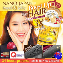[LAST $20.95ea*! FREE* TOTE BAG!!!] ♥#1 ROYAL JELLY ♥BOOSTS 3X HAIR GROWTH ♥MOST 36mg 10-HDA