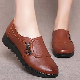 Fashion Women Flats Leather Shoes Female Slip on Loafers Anti Slip Moccasins Ladies Shoes black Zapa