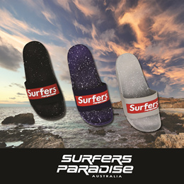 (NEW IN!) Surfers Paradise 009 - Unisex Sports Slides