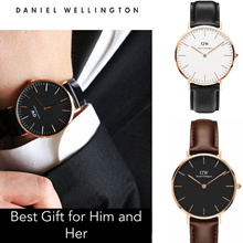 [FREE SHIPPING] *Gift Ideas DANIEL WELLINGT0N Men and Women Watch Series with full packaging