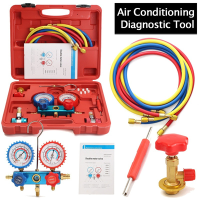Air Conditioning Tools >> Automotive Family Air Conditioning Tools Ac Diagnostic A C Manifold Gauge Set Refrigeration For R134