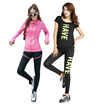 Daily Sportswear running jacket Sport Shirt/ bra and Pant Breathable and comfortable