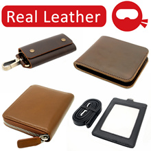 ★ REAL LEATHER ★ Card Wallets ID Lanyards Passport Key Holders Billfold Gifts Christmas Corporate