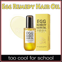 [too cool for school] Egg Remedy Hair Oil 100ml / K-Beauty Korean Cosmetic