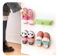 Home home living room bathroom wall hanging type wave separated stereo shoe rack wall shelving single pack